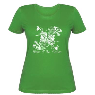 Купити Жіноча футболка Знаки зодіаку