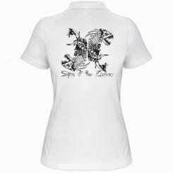 Купити Жіноча футболка поло Знаки зодіаку