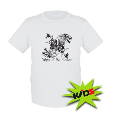 Купити Дитяча футболка Знаки зодіаку